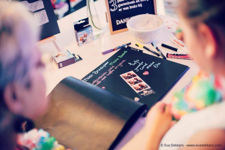 Fotostrips in je gastenboek