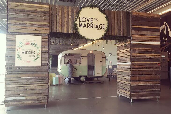 Ingang Love & Marriage Beurs Den Bosch