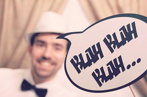 fotoprops: blah, blah, blah