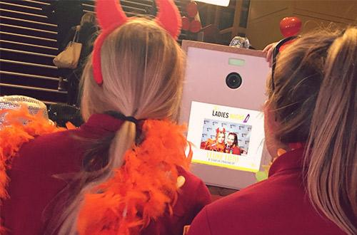 Medewerkers Pathé Tilburg op de Ladies Night