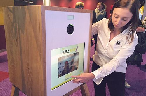 Photobooth op de Ladies Night bij Pathé Tilburg