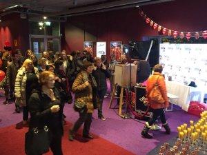 Photobooth bij bioscoop Pathé