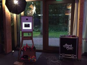 photobooth een bruiloft in Geldrop