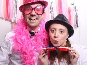 Bart en Ankie in het roze