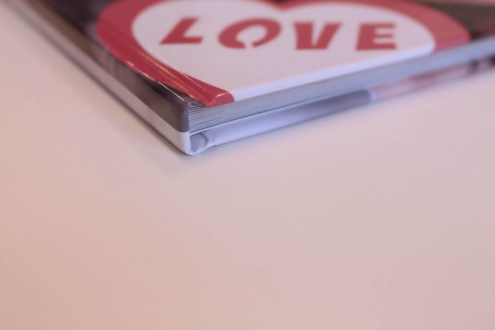 Voorkant van het boek - Love