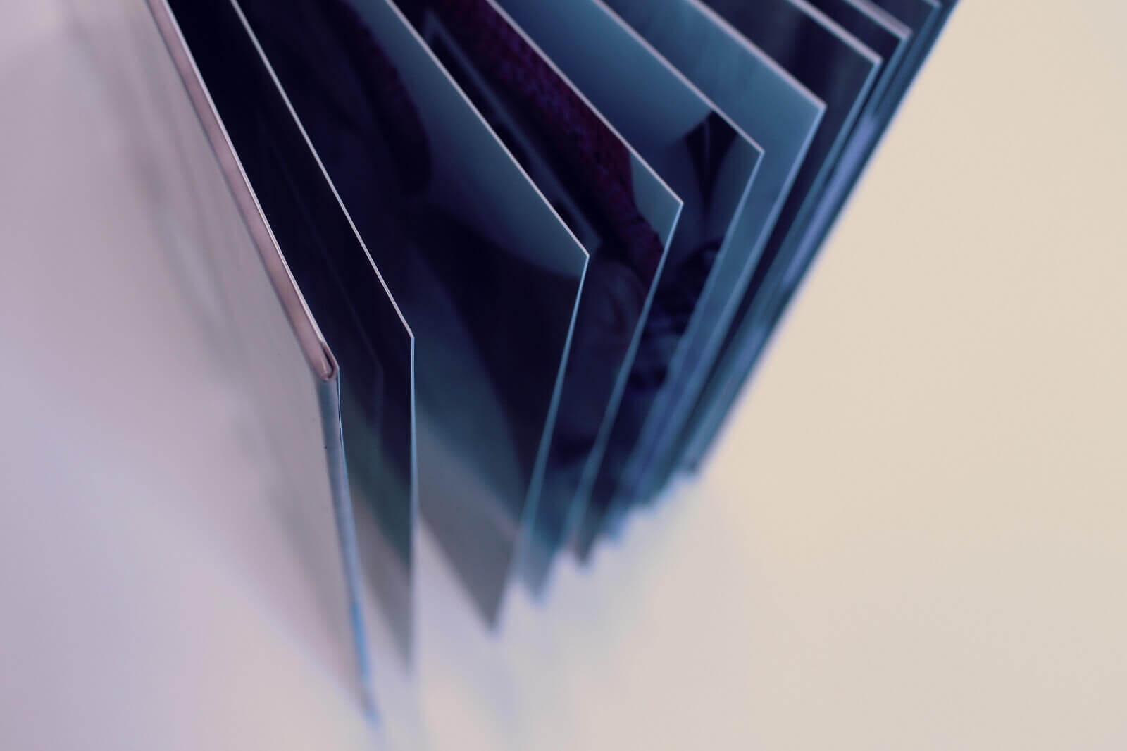 Deluxe fotoboek met extra dikke pagina's