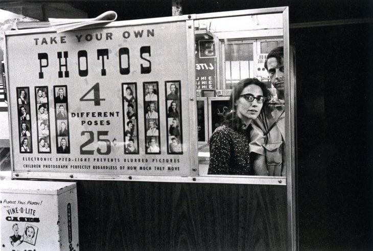 Hele oude photobooth