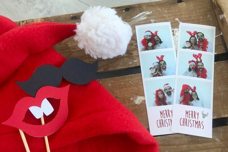 Fotostrips - Op de foto met kerst
