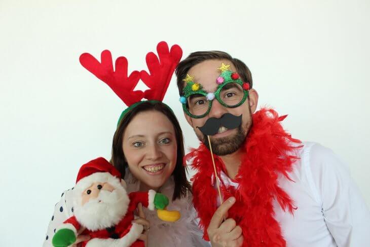 Photobooth huren met kerst