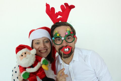 Kerstborrel photobooth huren