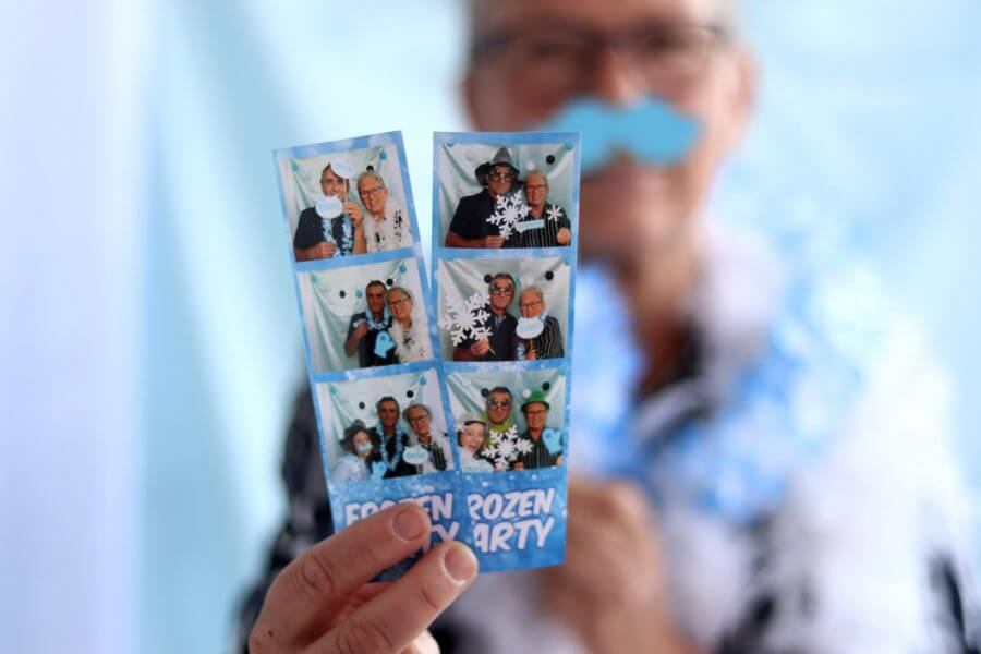 Fotostrips - Frozen party