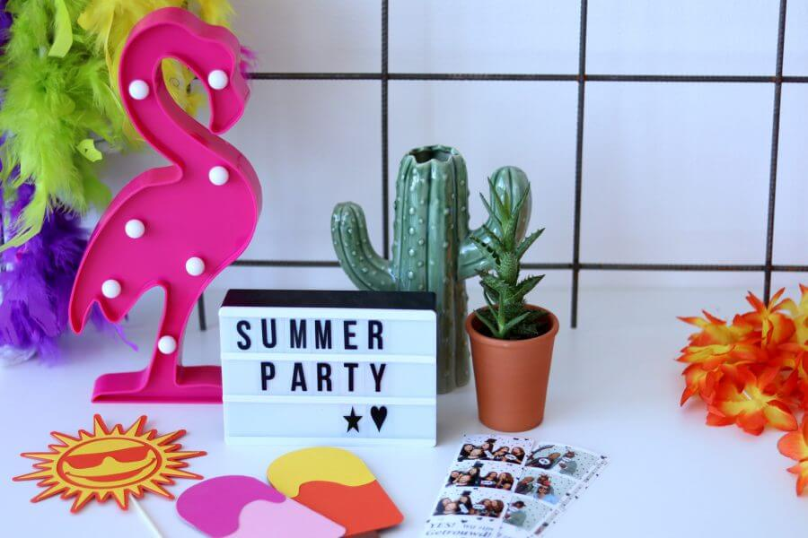 Summer Party photobooth