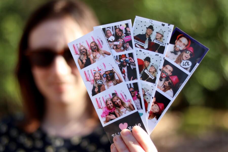 Fotostripjes onbeperkt afdrukken met een eigen ontwerp