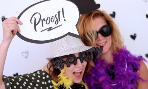 "Photobooth tekstbordje ""Proost"""