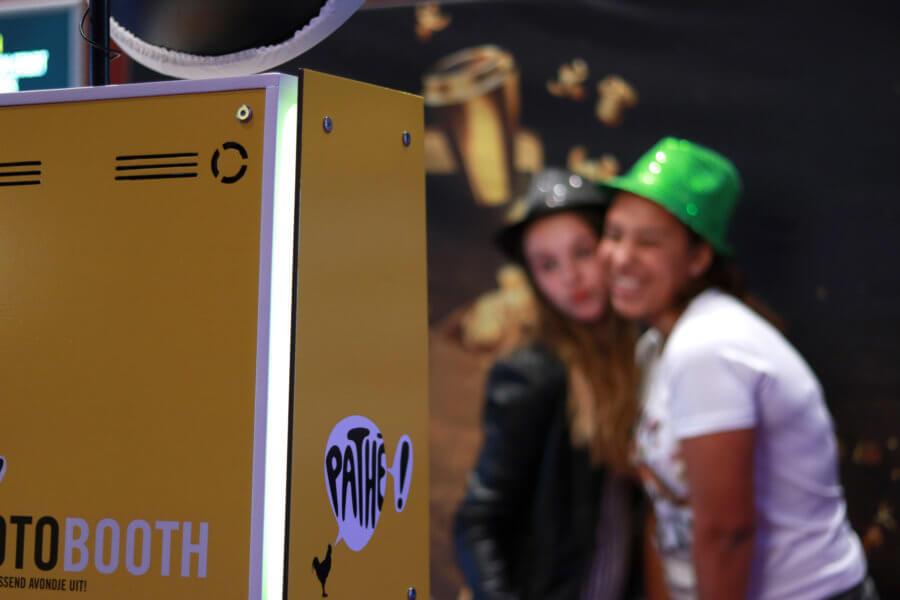 Photobooth bij Pathé met maatwerk cover